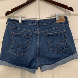 Levi's 515 blue jean shorts - women's size 12